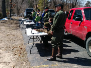 Croton Sportsman For Youth And Disabled Veterans - Youth learning hunter safety