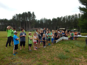 Croton Sportsman For Youth And Disabled Veterans - Youth learning Archery skills.